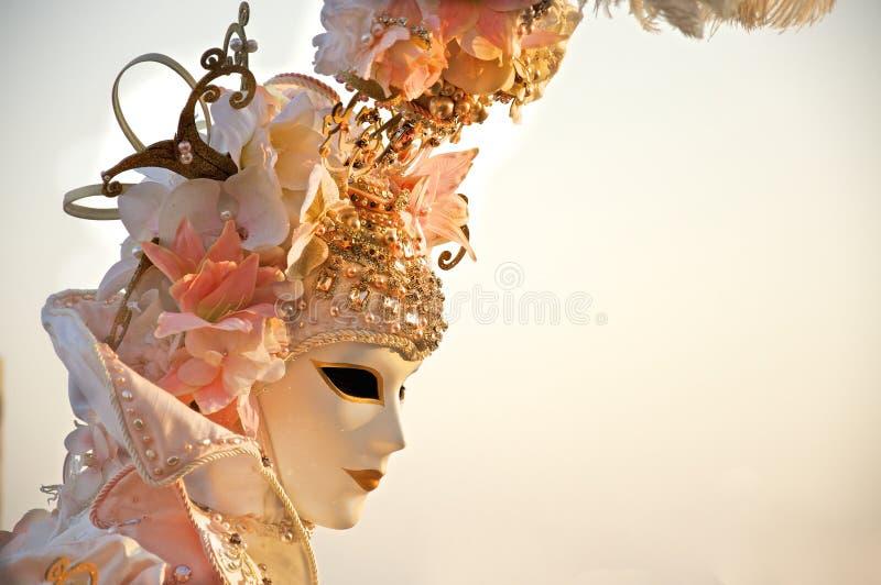 karnevalmaskering 2012 venice royaltyfria foton