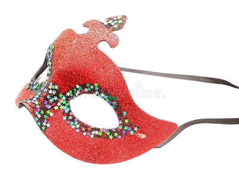 karnevalmaskeringsred royaltyfri bild