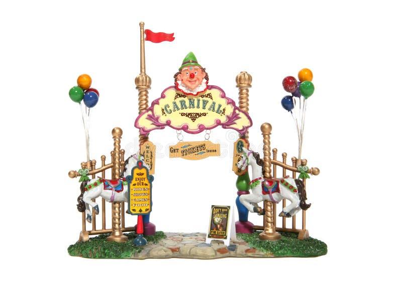 Karnevals-Eingang lizenzfreie stockbilder