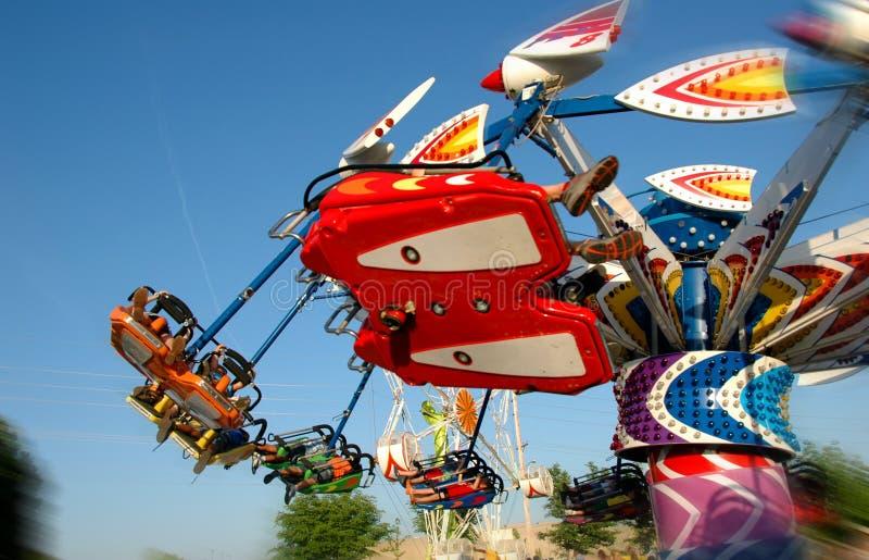 Karnevals-Fahrt stockfotos