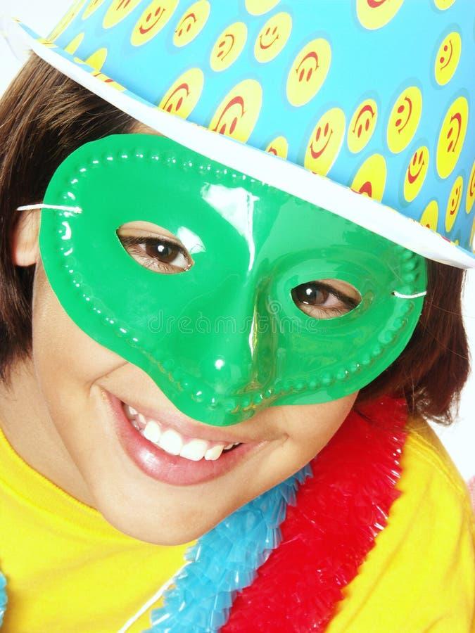 Karnevals-Kind. lizenzfreie stockfotos