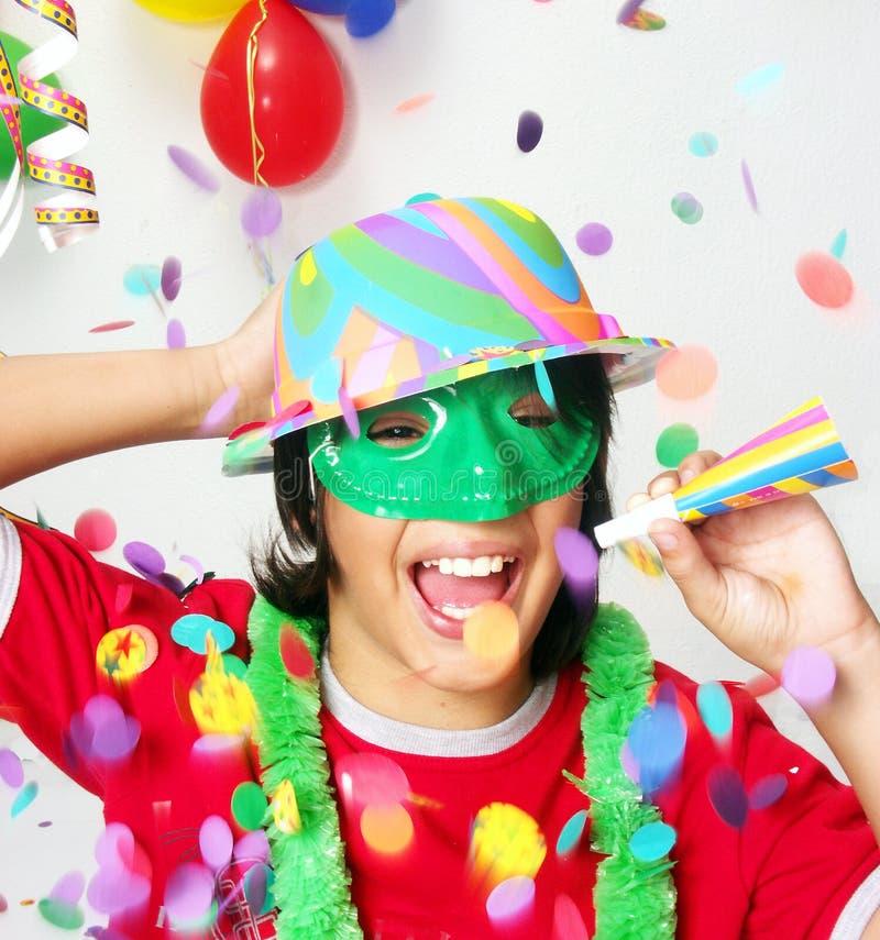 Karnevals-Kind. stockfotos