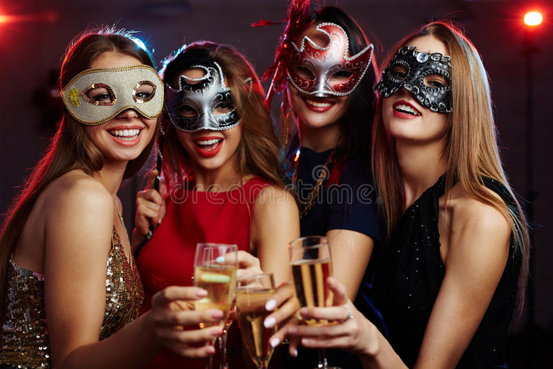 Karnevals-Mädchen lizenzfreie stockfotografie