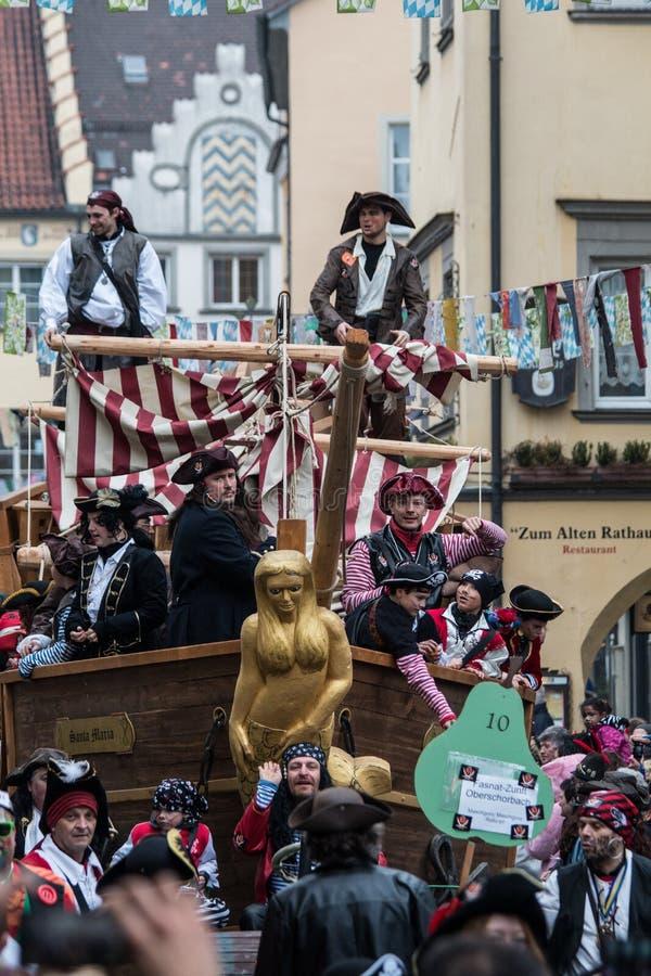 Karnevals-Piraten lizenzfreie stockfotos