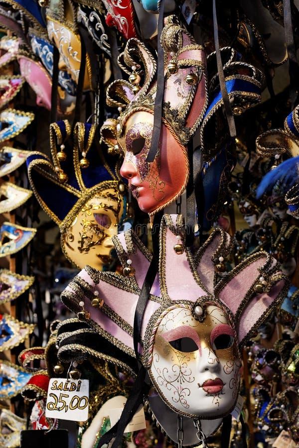 Karnevals-Schablonen auf Verkauf lizenzfreies stockbild