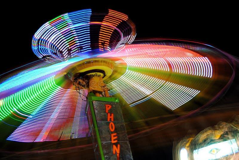 Karnevals-Schwingen stockfotografie