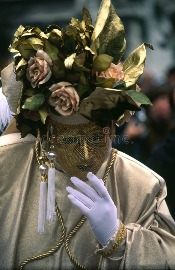Karnevals-venetianische Schablone lizenzfreie stockfotografie