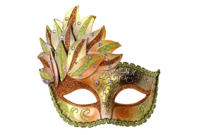 Karnevals-venetianische Schablone stockfoto