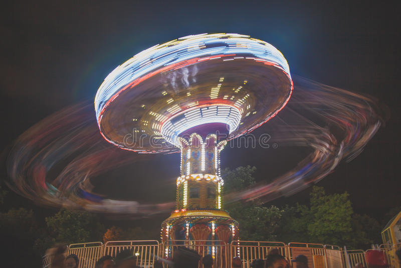 Karnevalsfahrt lizenzfreies stockfoto