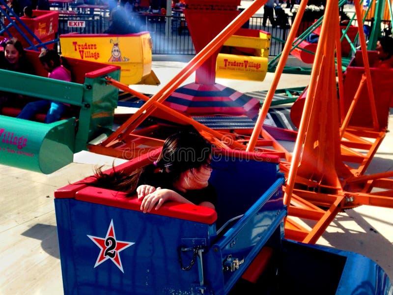 Karnevalsfahrt stockbilder