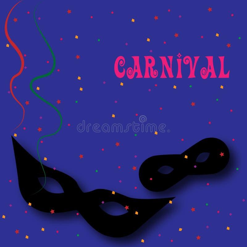 Karnevalshintergrund 3 lizenzfreie abbildung