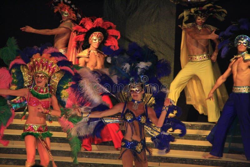 karnevalshowvariation royaltyfria bilder