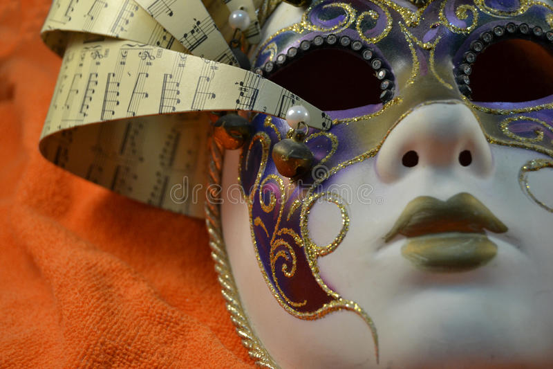 Karnevalsmaske stockfotografie