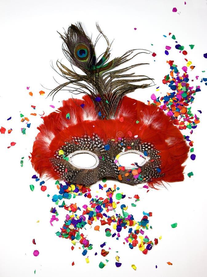 Karnevalsschablone stockbild
