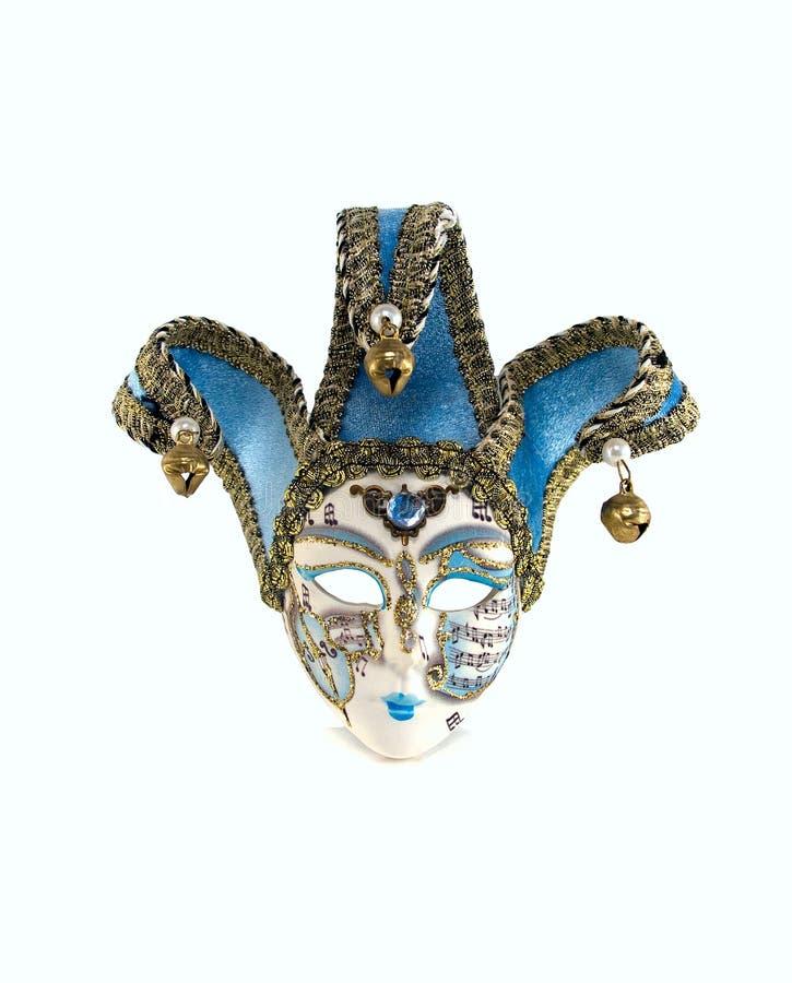 Karnevalsschablone von Venedig lizenzfreie stockfotos