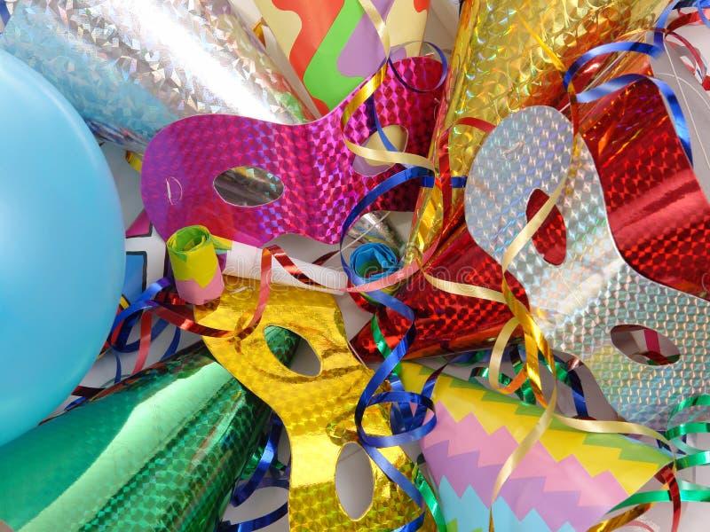 Karnevalszubehör lizenzfreie stockfotos