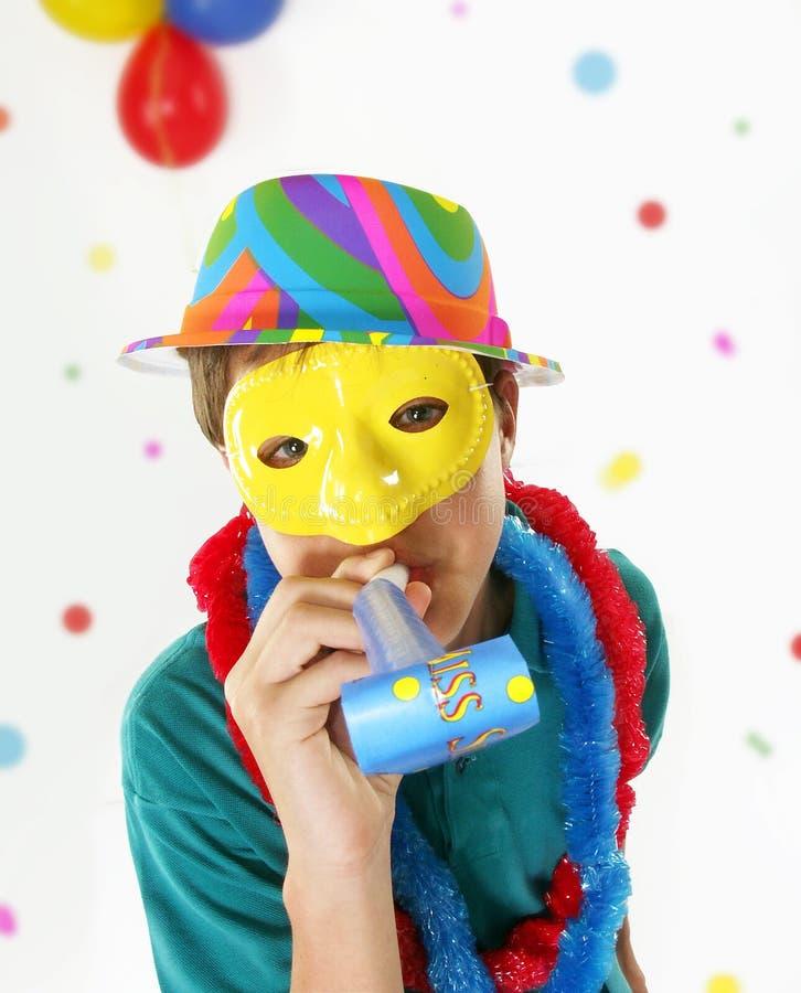 karnevalunge royaltyfri bild