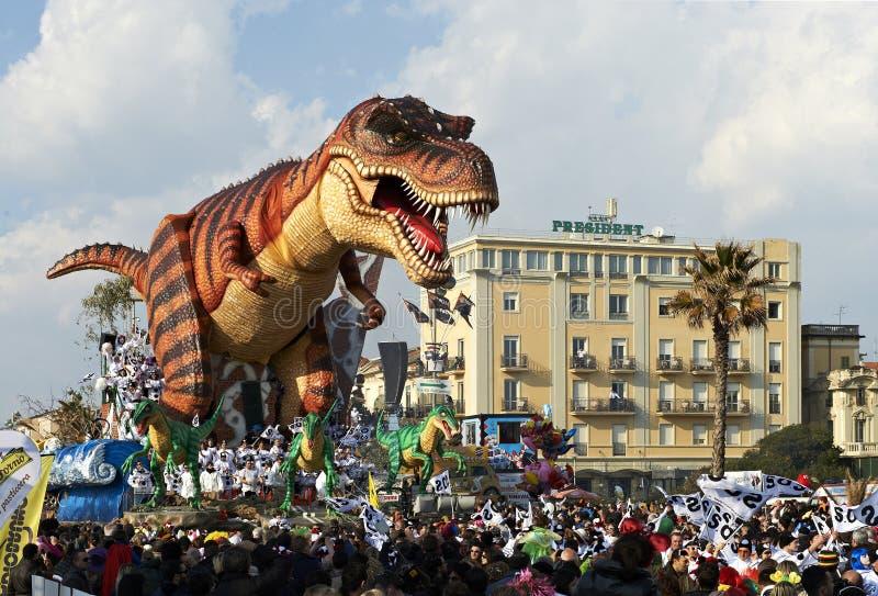 karnevalviareggio fotografering för bildbyråer