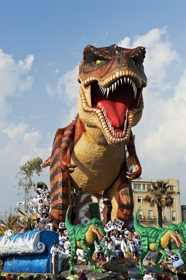 karnevalviareggio arkivfoton