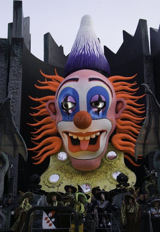 karnevalviareggio royaltyfri fotografi