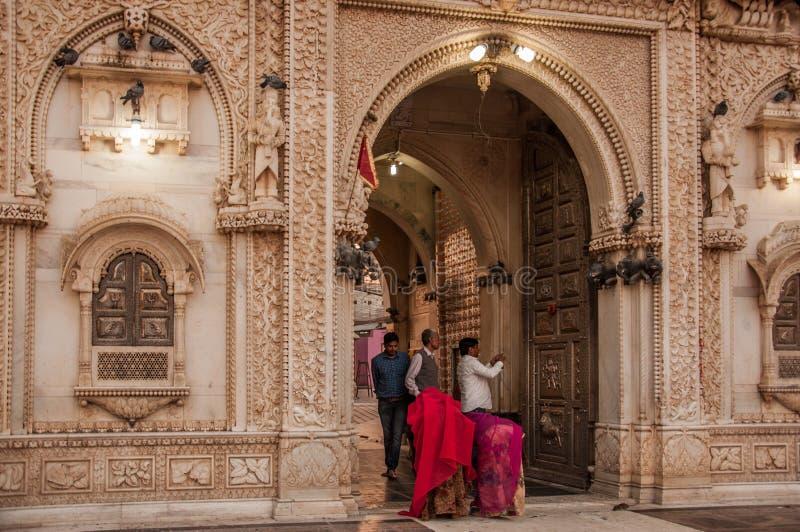 Karni Mata Tempel stockfotos
