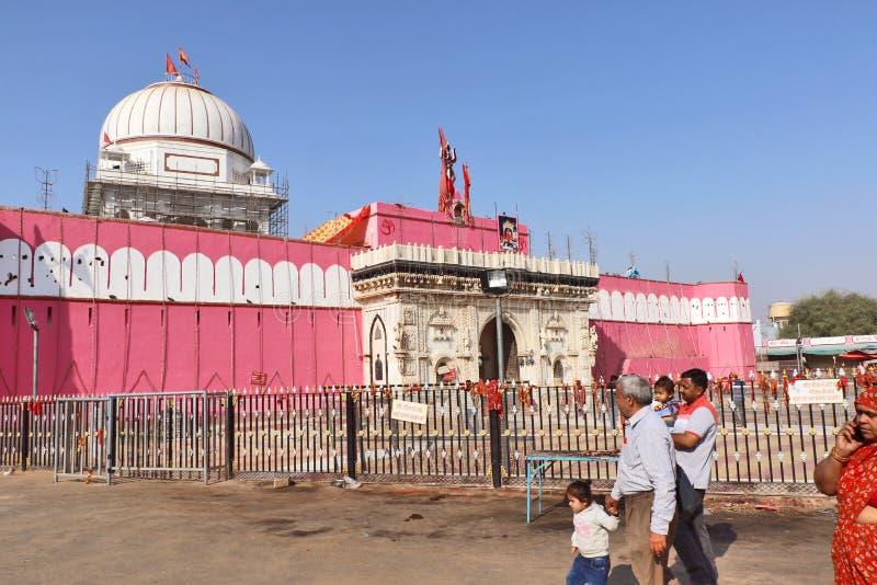 Karni Mata Temple o tempio dei ratti, Bikaner immagini stock libere da diritti