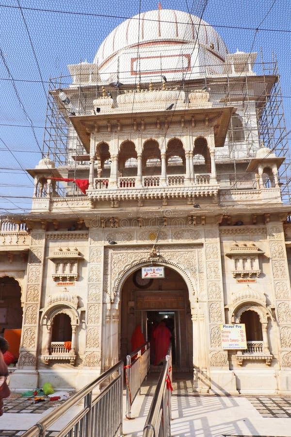 Karni Mata Temple o templo de ratas, Bikaner fotos de archivo