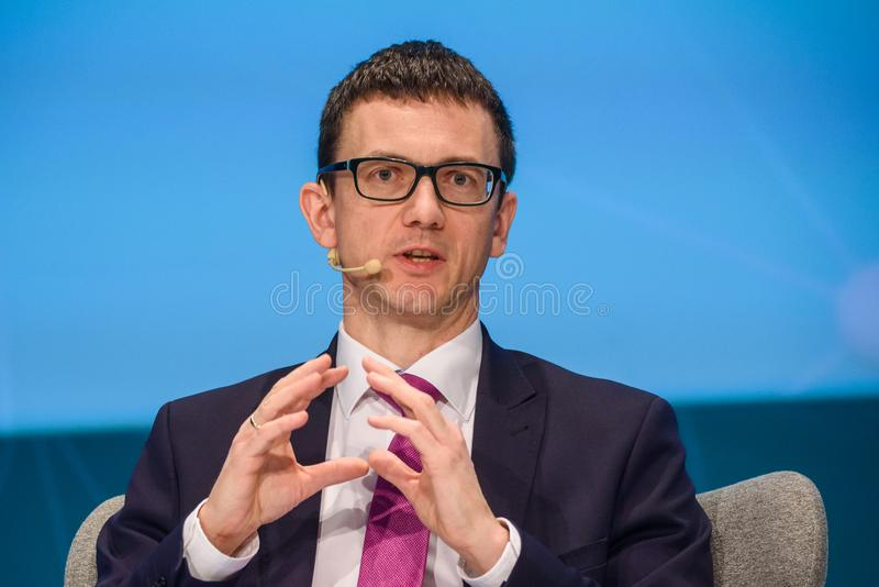 Karol Okonski, Secretary of State, Government Plenipotentiary for Cybersecurity Ministry of Digital Affairs, Poland stock photography