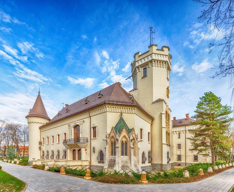 Karolyi城堡在Carei 免版税图库摄影
