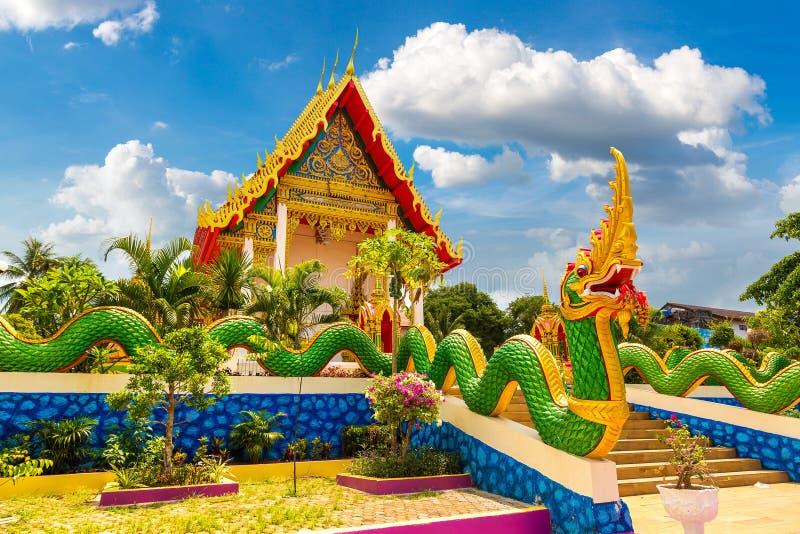 Karon寺庙在普吉岛 库存图片