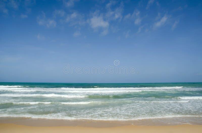 Karon海滩在普吉岛 库存照片
