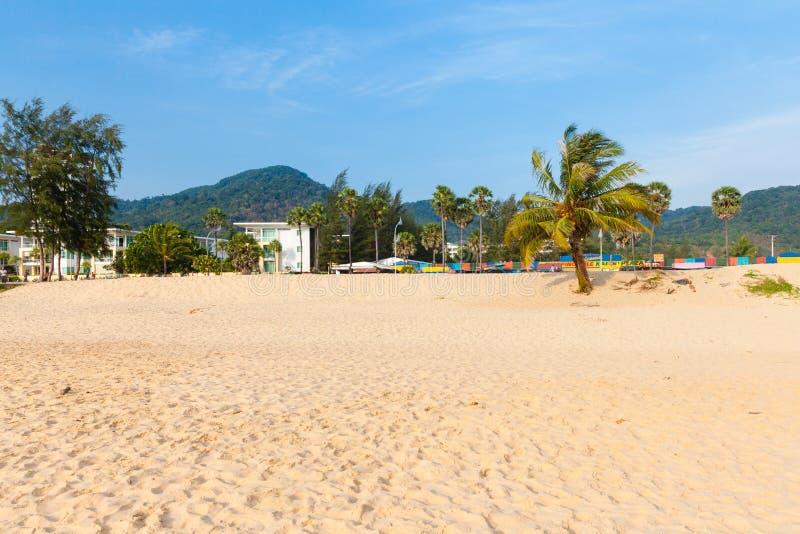 Karon海滩,普吉岛,泰国 图库摄影