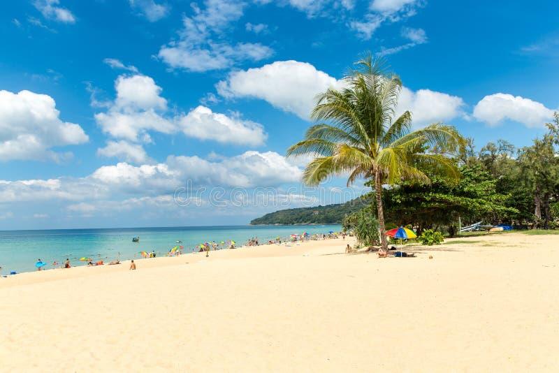 Karon海滩在普吉岛海岛泰国 库存图片