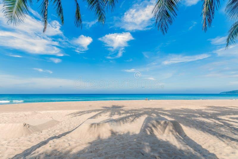 Karon海滩普吉岛,泰国 库存图片