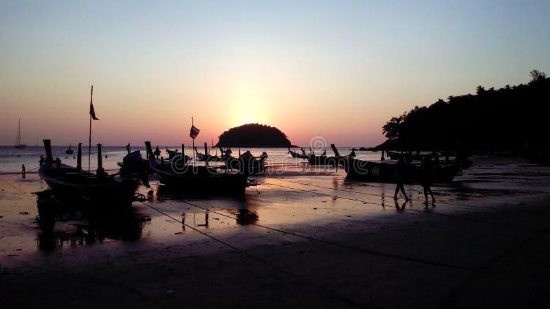 Karon Beach, Phuket, Thailand. stock photo