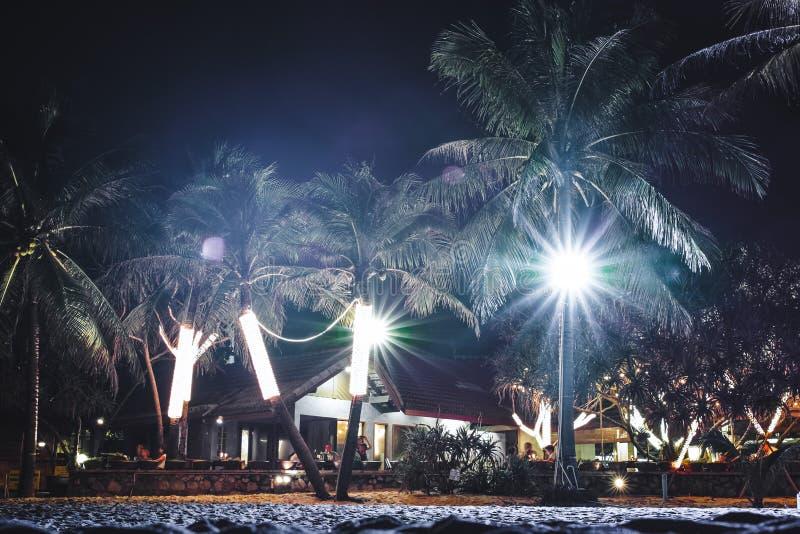 Karon plaża przy Christimas w Phuket wyspie, Tajlandia obrazy stock