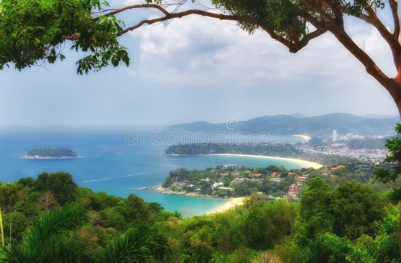 Karon synvinkel i Phuket, Thailand royaltyfri bild