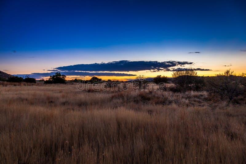 Karoo-Sonnenaufgang lizenzfreie stockbilder