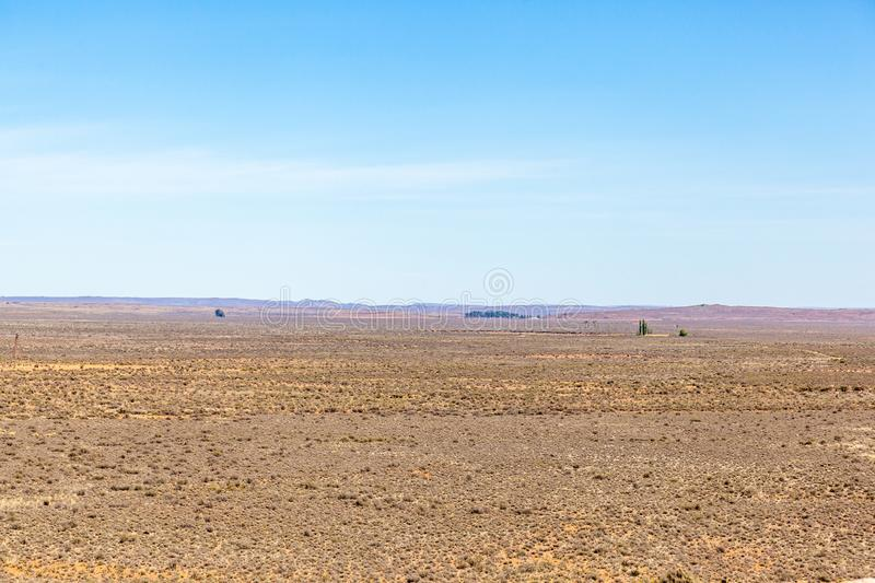The Karoo is a very dry sparse desert in most places but it is full of life and history. South Africa. The Karoo is a very dry sparse desert in most places but stock images