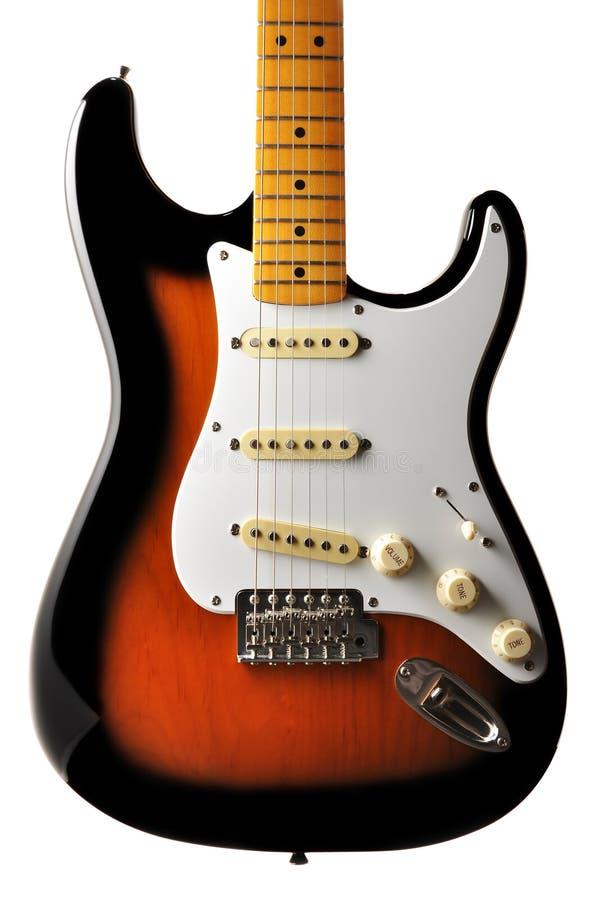 Karosserie der elektrischen Gitarre lizenzfreie stockfotos