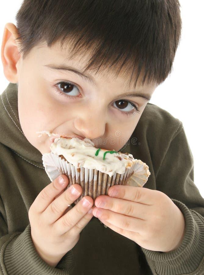 Karotte-Kuchen lizenzfreies stockfoto