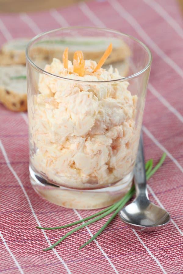 Karotteimbiß stockfoto