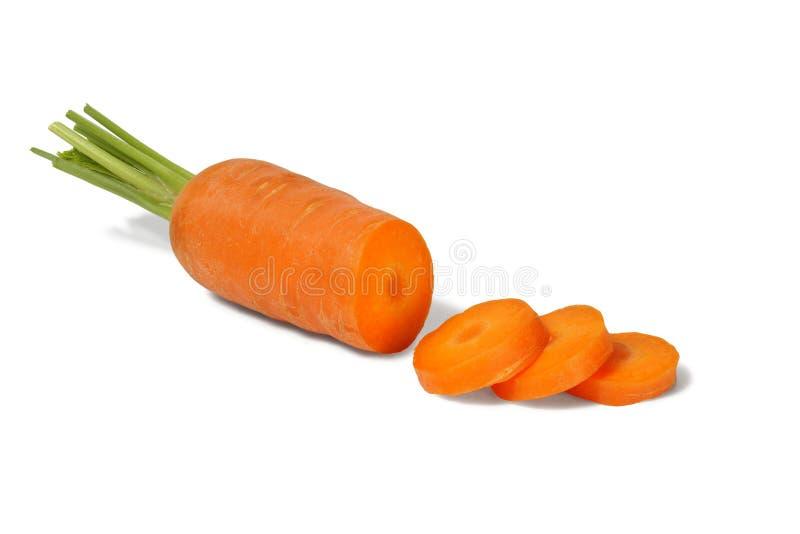 Karotten-Scheiben stockfotos