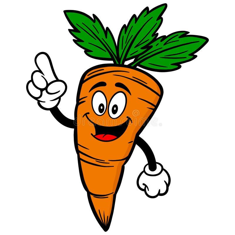 Karotten-Unterhaltung stock abbildung