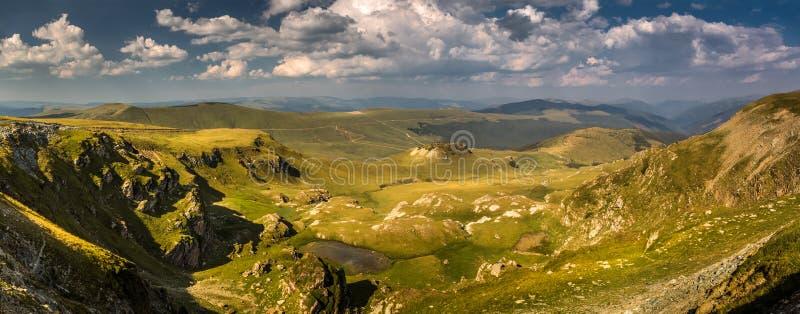 Karpacki krajobraz zdjęcie royalty free