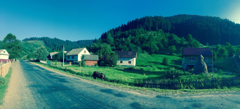 Karpaten-Ukraine lizenzfreies stockfoto