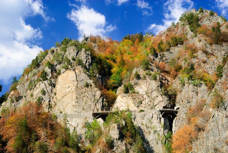 Karpatenberge Rumäniens Transfagarasan lizenzfreies stockbild