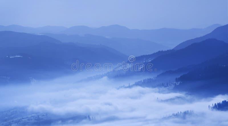 Karpatian Mountains Stock Photo