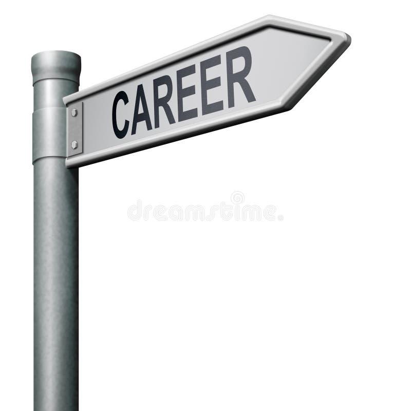 karriärarbetsmöjlighetbefordran royaltyfri illustrationer