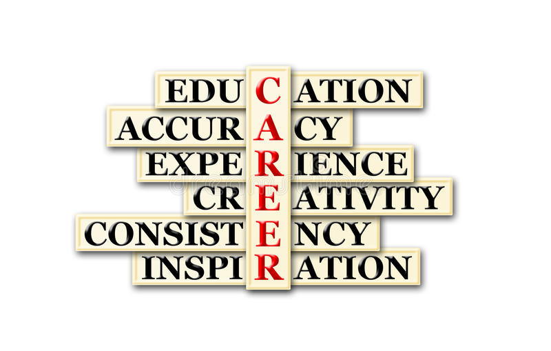 karriere stock abbildung